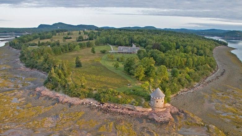 Ministers Island in New Brunswick
