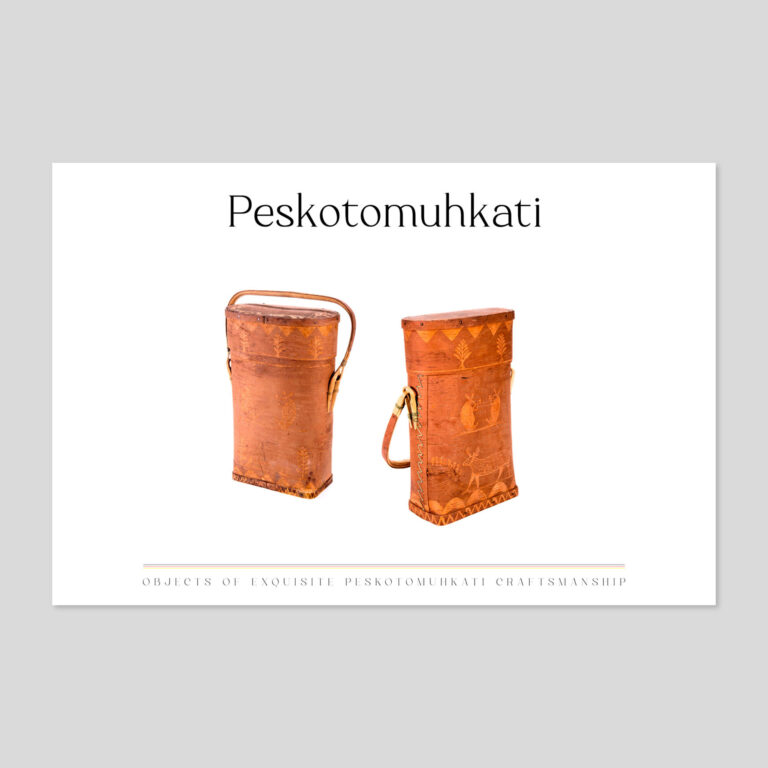 birchbark storage baskets | Masqewi-tuwahtahsut