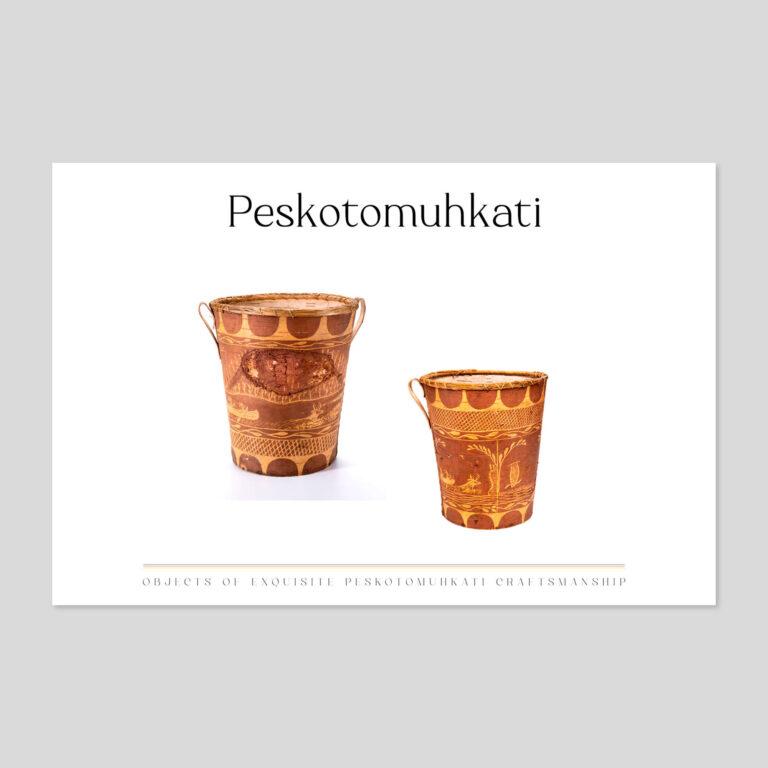 birchbark waste baskets | masqewi-sukayewotikoninut