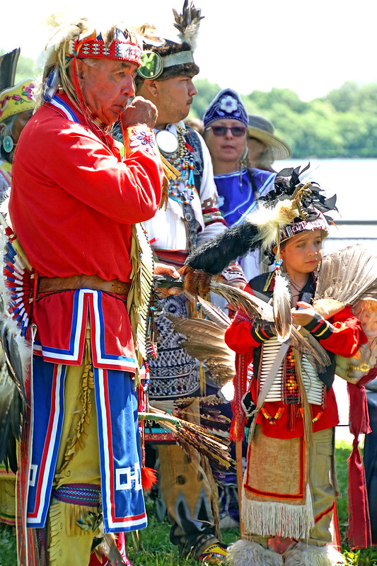 Photo by Dennis Jarvis First Nations marked National Aboriginal Day on 21 June with a celebration in the Old Port Montreal, the historic meeting point between Indigenous people and Europeans.