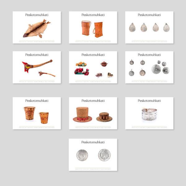 bundle of peskotomuhkati artefacts
