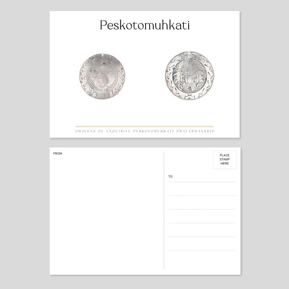 10-silver-medal-coins-on-grey-postcard-1000